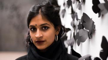 ASU student Asha Ramakumar at the Phoenix Art Museum