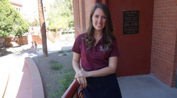 ASU Graduate Professional Student Association president Michelle Sullivan Govani