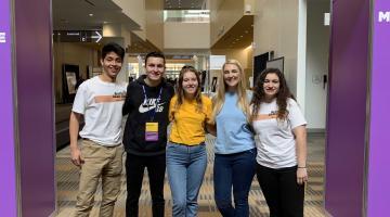 ASU Programming Activities Board members at the 2019 NACA conference