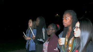 2019 ASU Black History Month vigil at Old Main