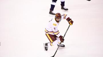 ASU hockey forward Johnny Walker