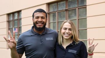 M&G Drive founders Elijah Smith and Jenna Fitzgerald