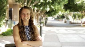 ASU forensic psychology student Sarah Selman