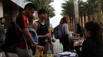 ASU students in Tempe talk about Stalking Awareness Month 2019