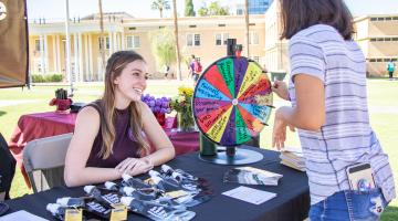 ASU students talk about healthy relationships on the Tempe campus