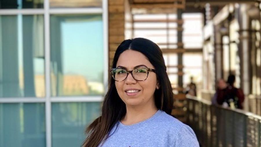 Maria Espinoza portrait