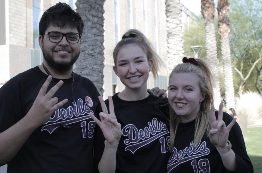 ASU baseball tailgate spring 2019 U of A game