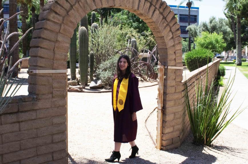 ASU grad Holly Bernstein