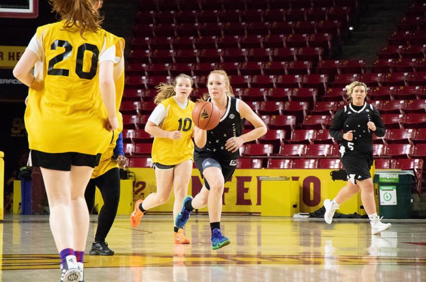 ASU women intramural basketball spring 2019