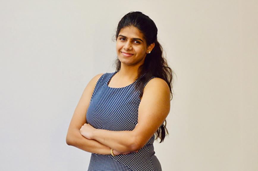 ASU graduate Bindu Nakirikanti