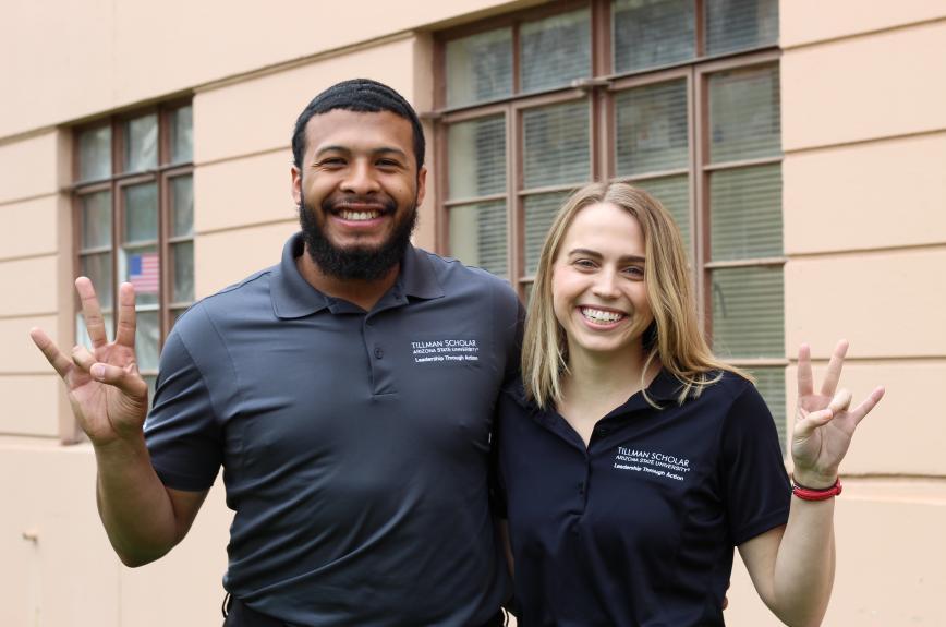 M&G Drive founders Elijah Smith and Jenna Fitzgerald