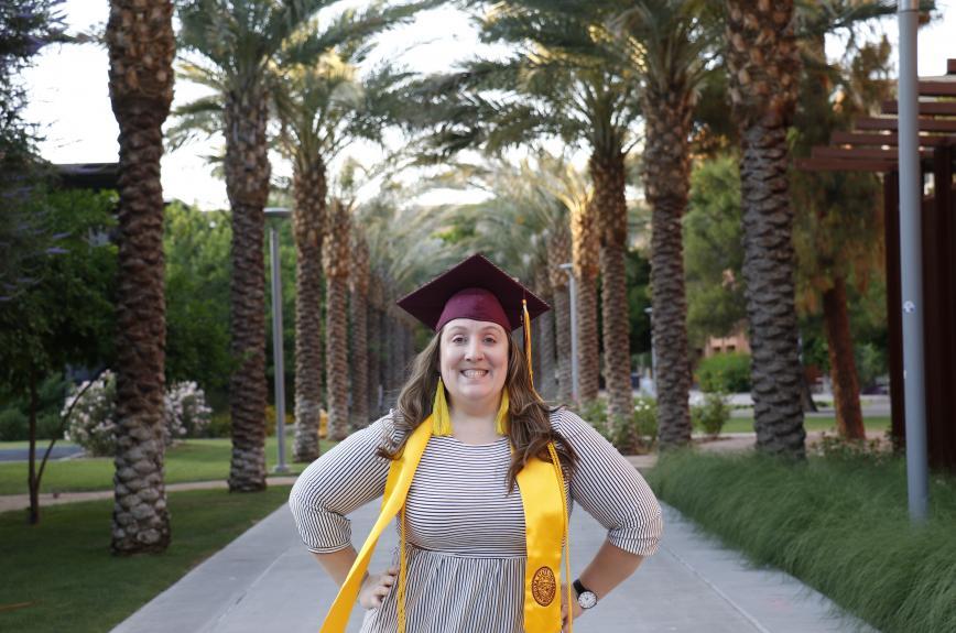 ASU graduate Rachel Fischer