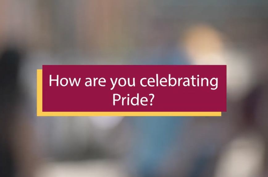 How are you celebrating pride?