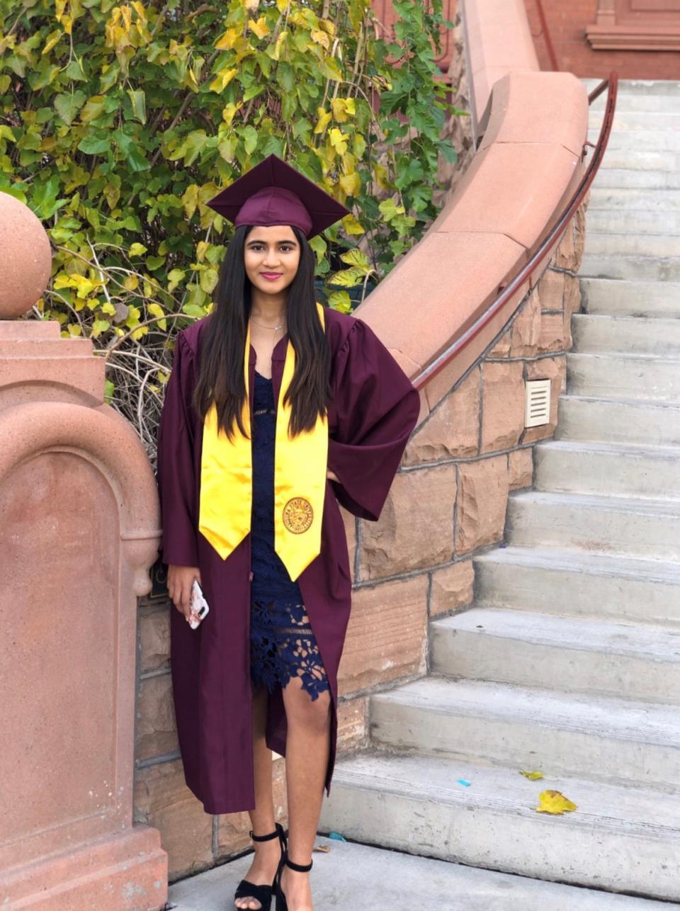 Rutva Gupta, ASU Thunderbird school graduate