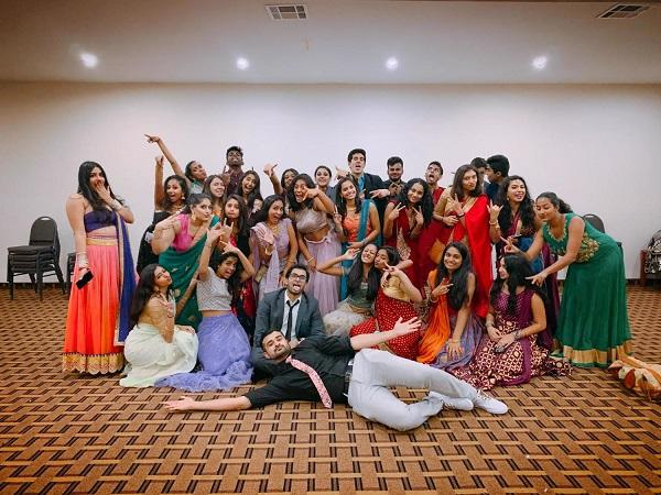 ASU students in Bollywood clothing