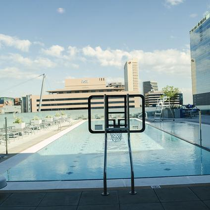 ASU Downtown Phoenix rooftop pool Sun Devil Fitness Complex SDFC