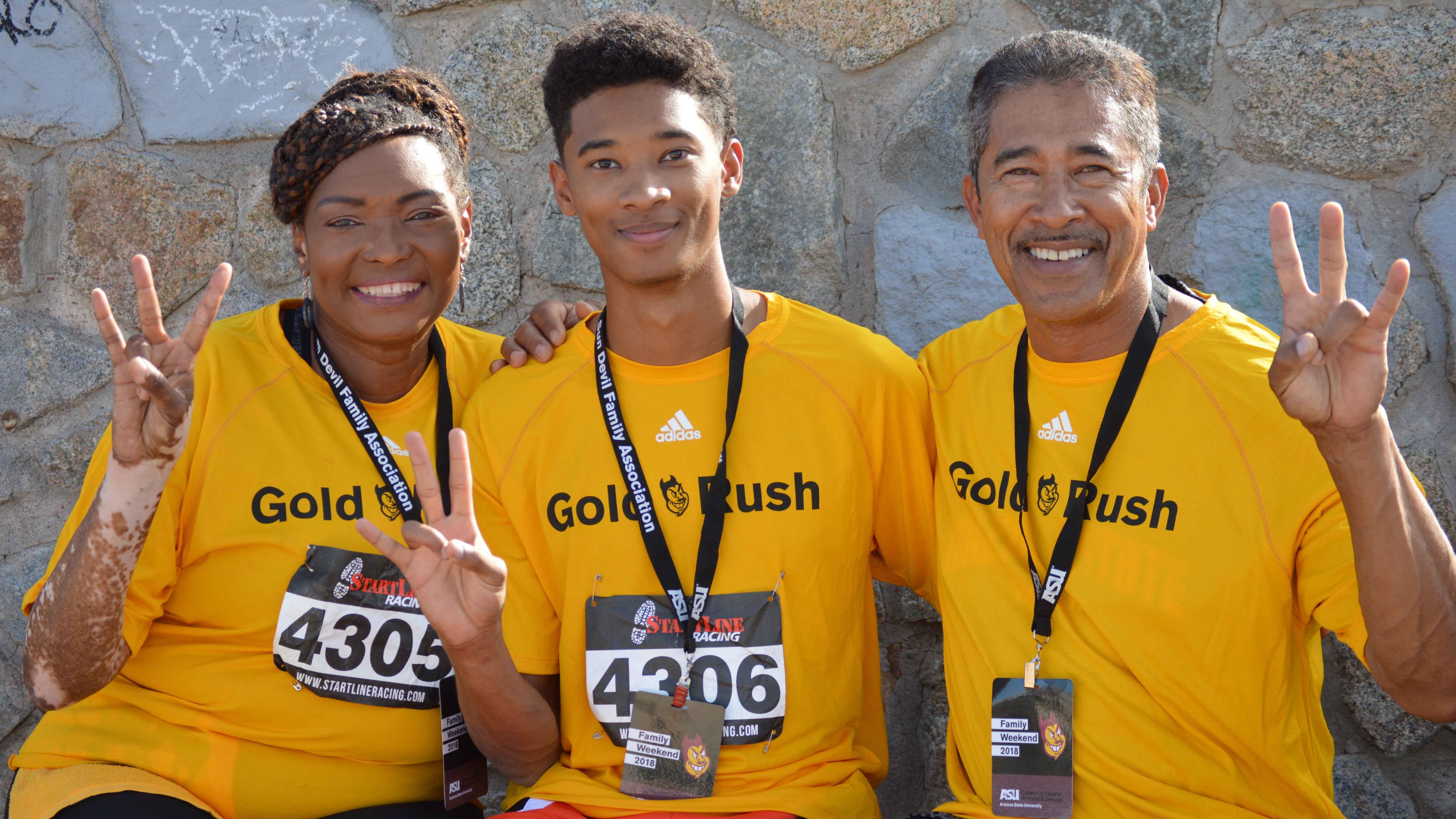 ASU Family Weekend Gold Rush 2018