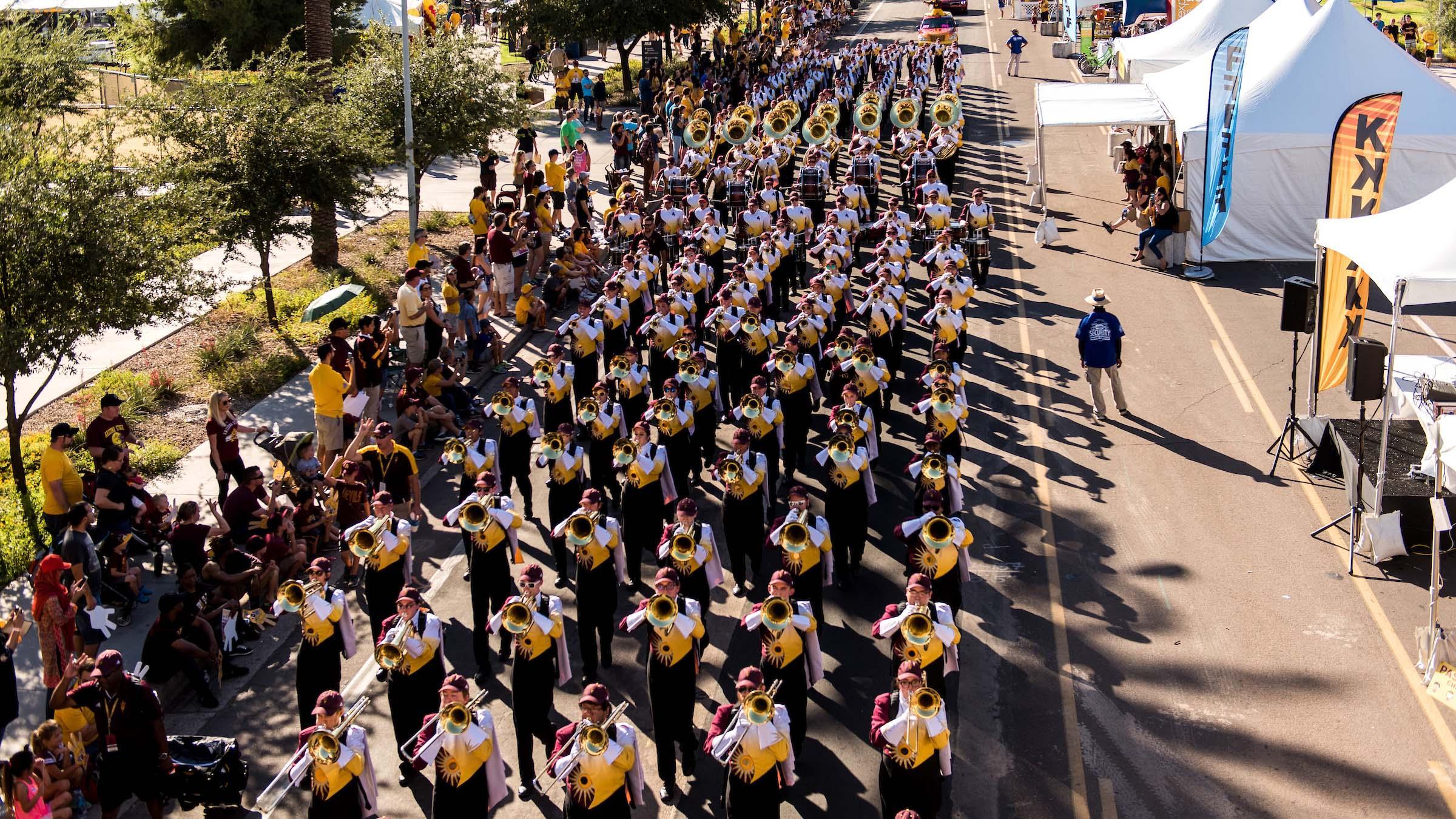 ASU Homecoming Parade Tempe Arizona