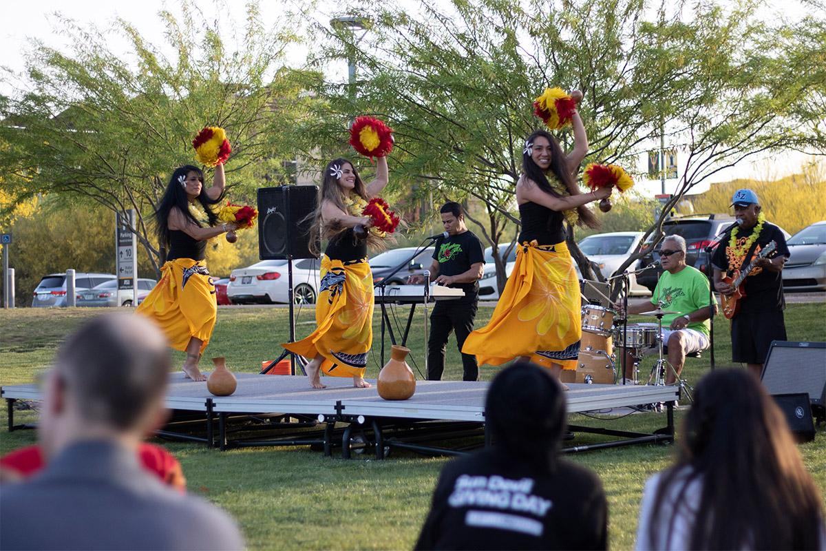 Showcasing the Asian Pacific American culture through dance to the ASU community.