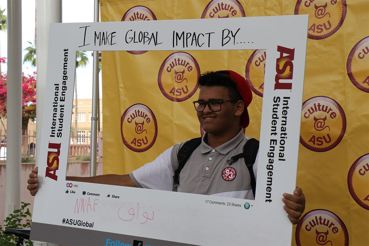 ASU students express how they make a global impact