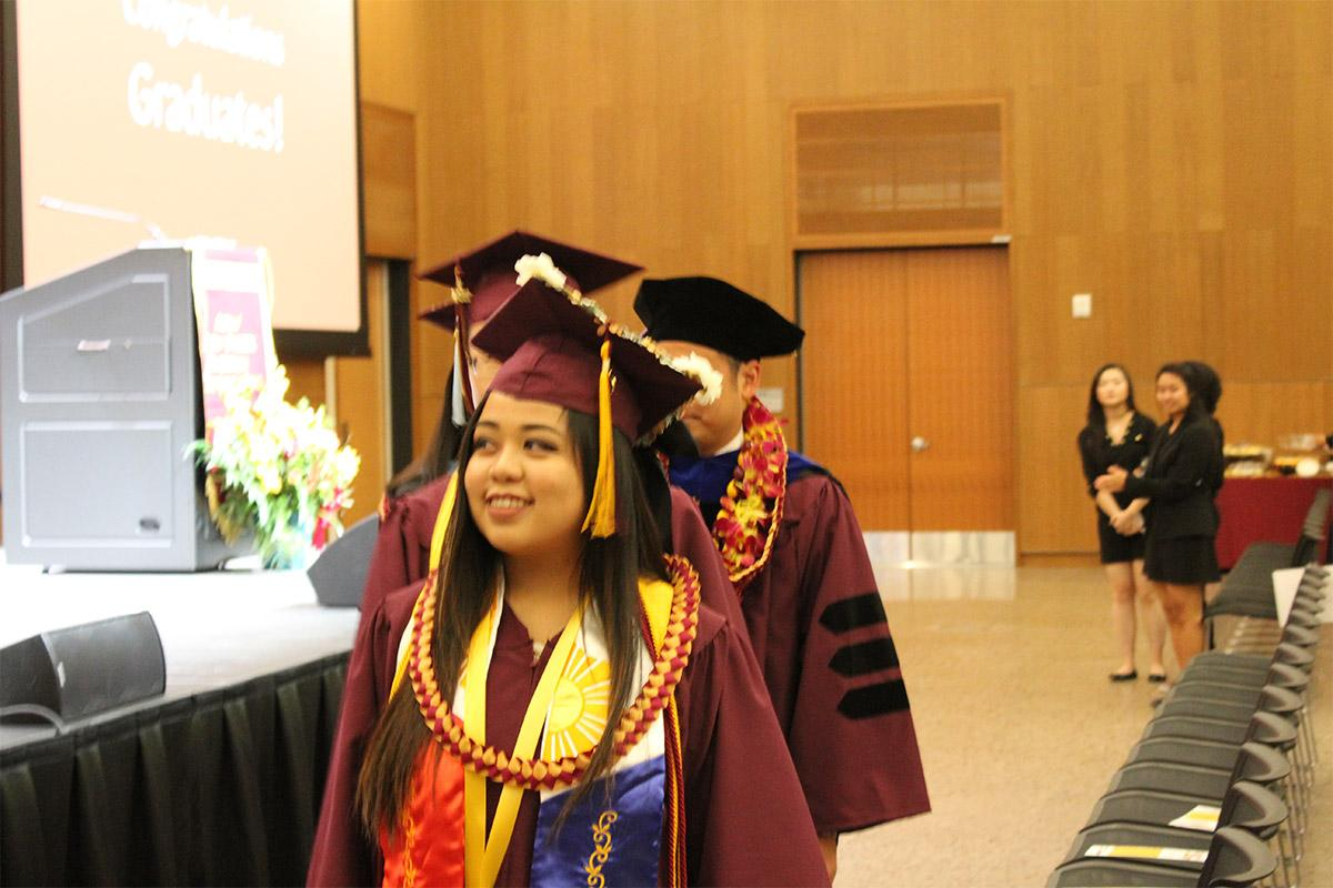 Graduates of the Asian/Asian Pacific American Convocation