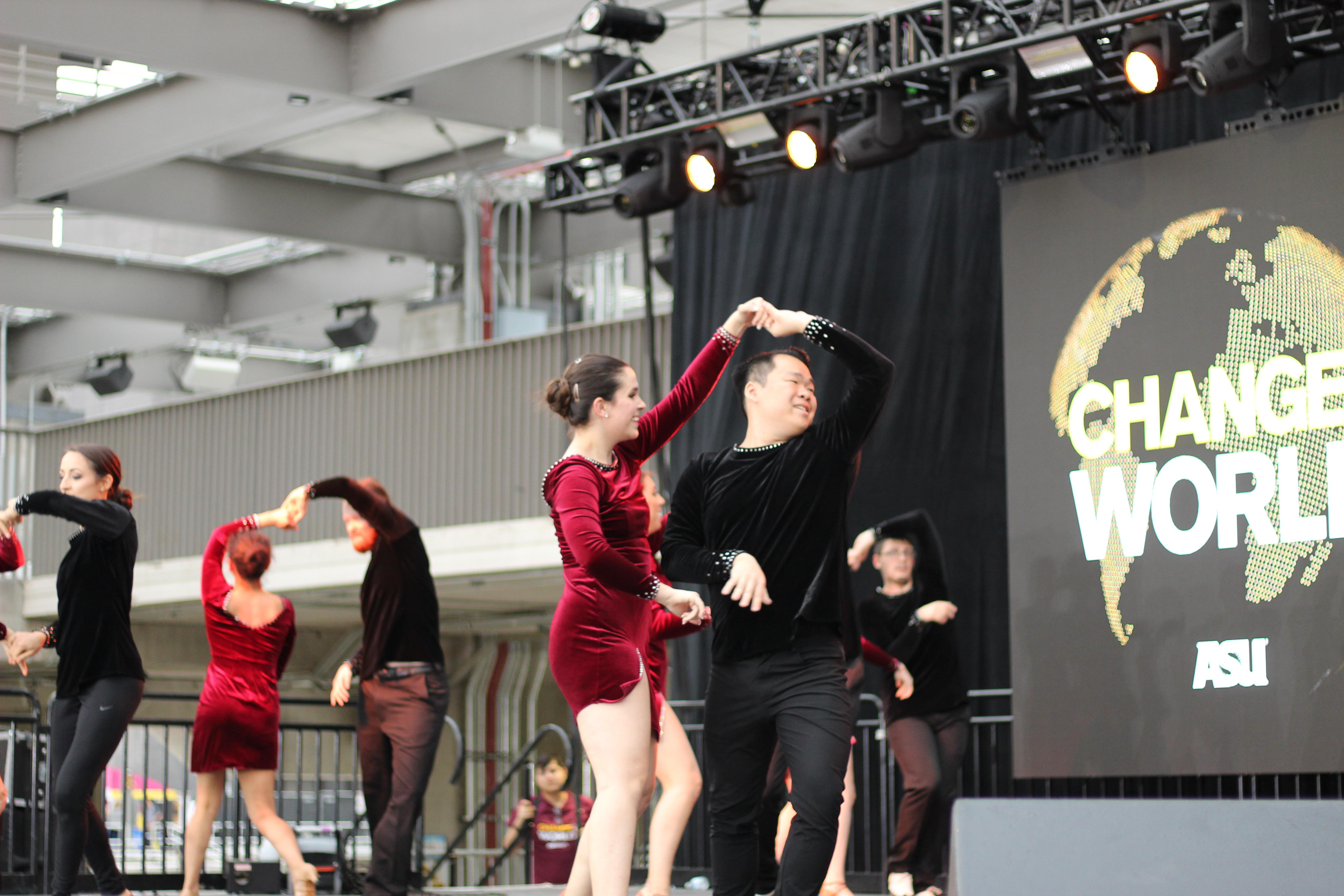 ASU Latin Sol dance group