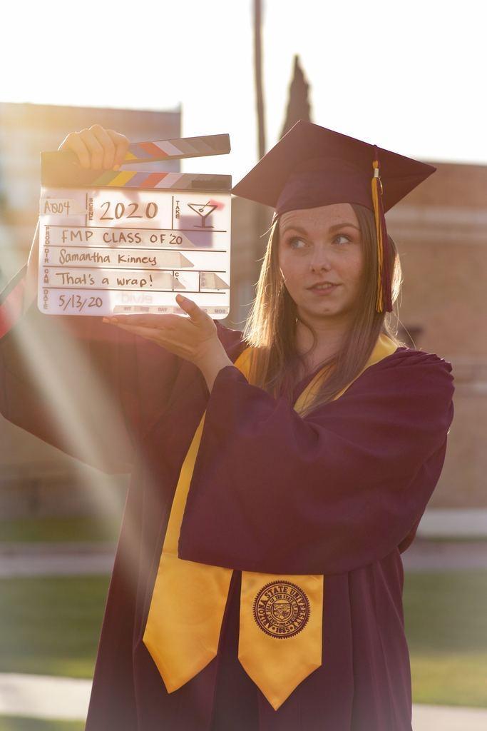 ASU graduate, Samantha Kinney.