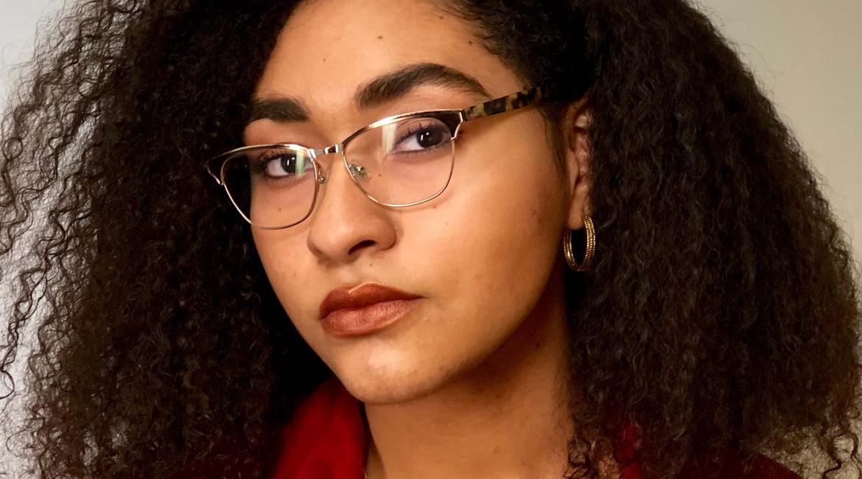 ASU student Unique Ratliff poses for a portrait